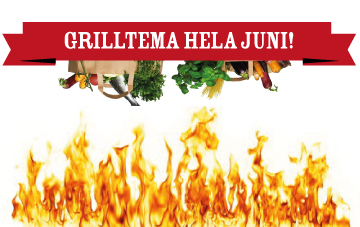 Grilltema i Juni!